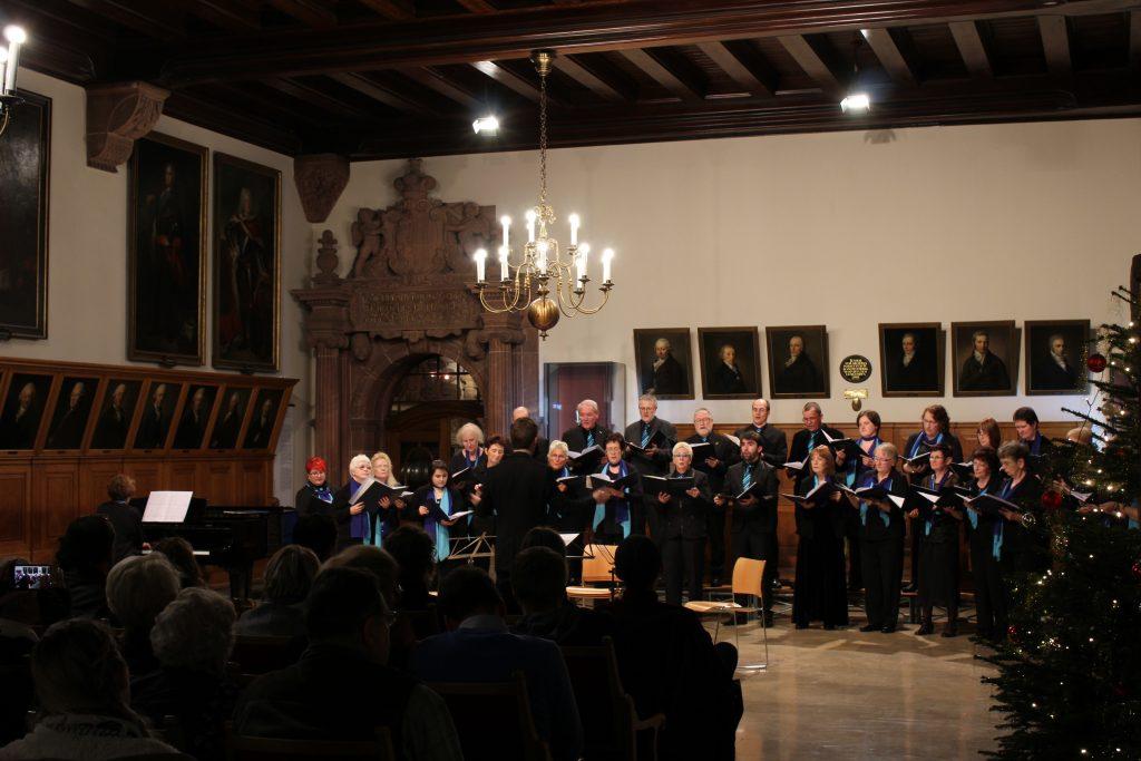 Weihnachtskonzert 2017 Festsaal des Alten Rathauses zu Leipzig